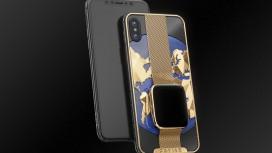 В России создали iPhone Xs со встроенными умными часами Apple Watch4