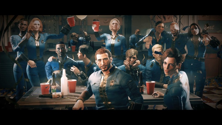 В Fallout76 напарники воруют оружие игроков