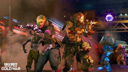 Обновление6 сезона Call of Duty: Black Ops Cold War весит 230 ГБ на Xbox Series X