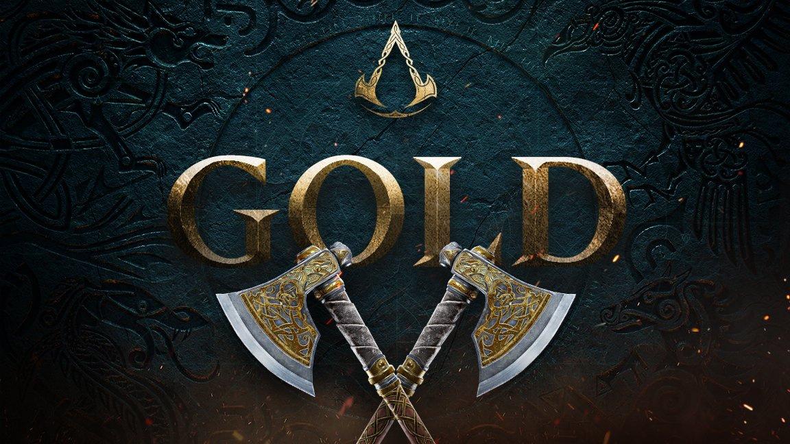 Assassin's Creed Valhalla ушла на золото. Релиз 10 ноября
