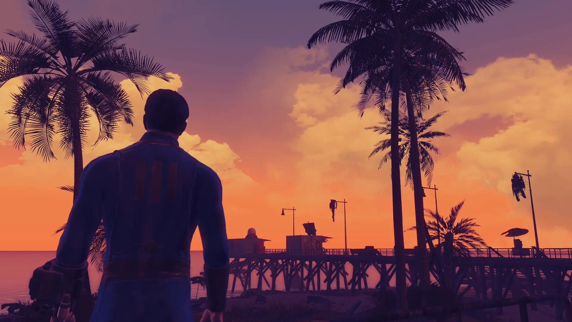 В новом трейлере Fallout: Miami показали локации модификации
