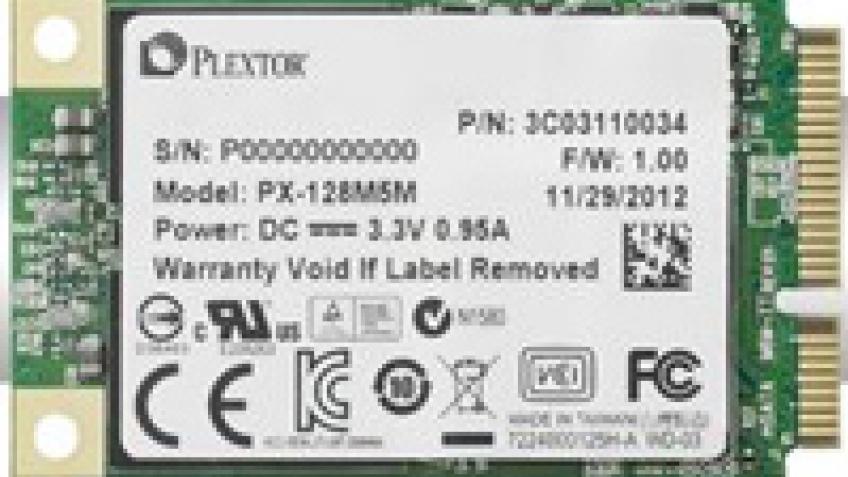 Plextor M5M: твердотельные накопители в исполнении mSATA