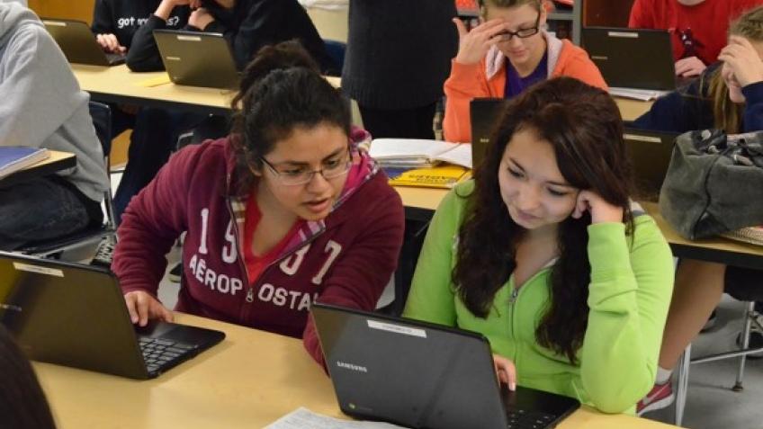 Google Chromebook активно используют в школах
