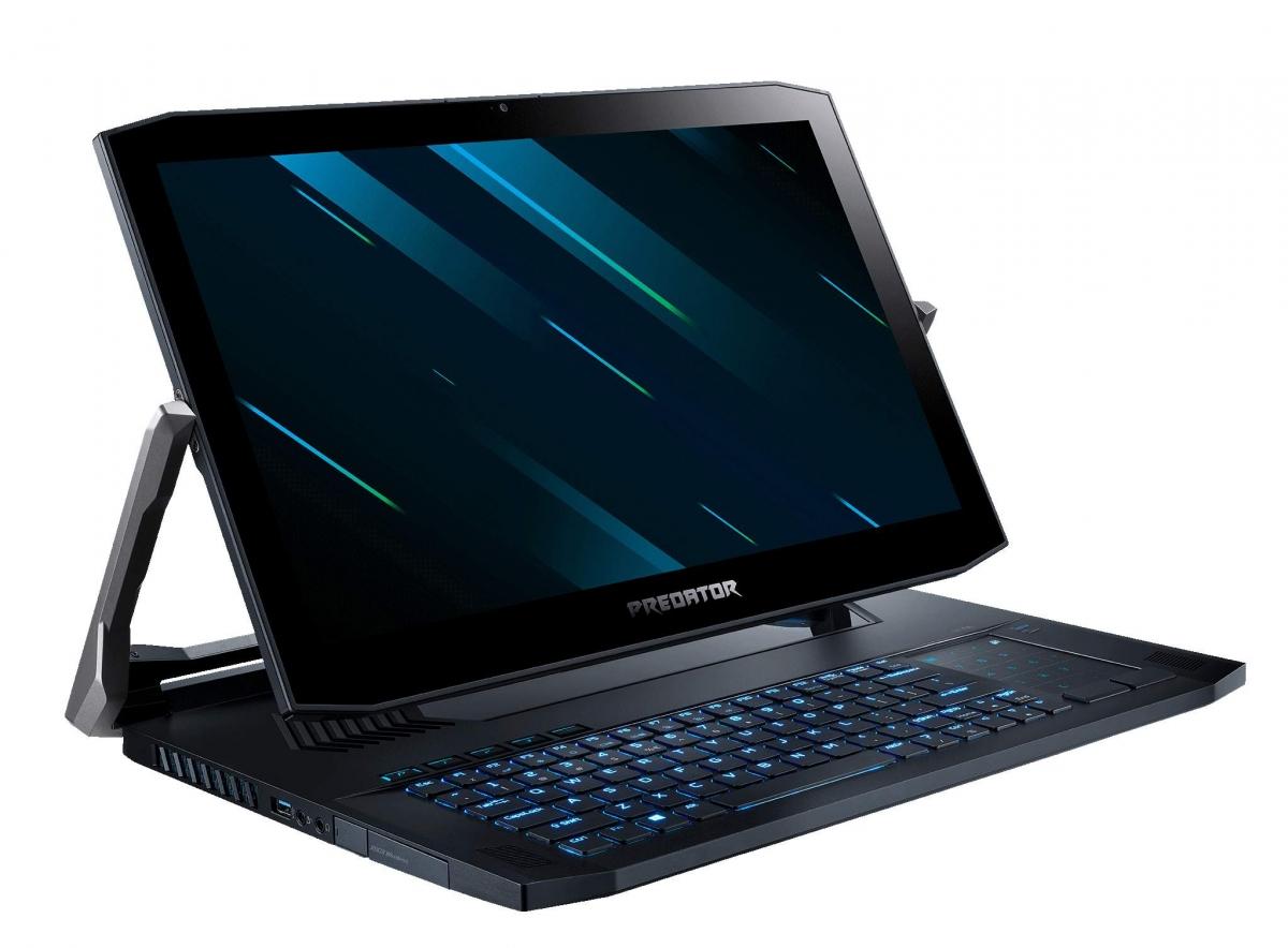 Игровой ноутбук-трансформер Predator Triton 900 уже можно купить в России