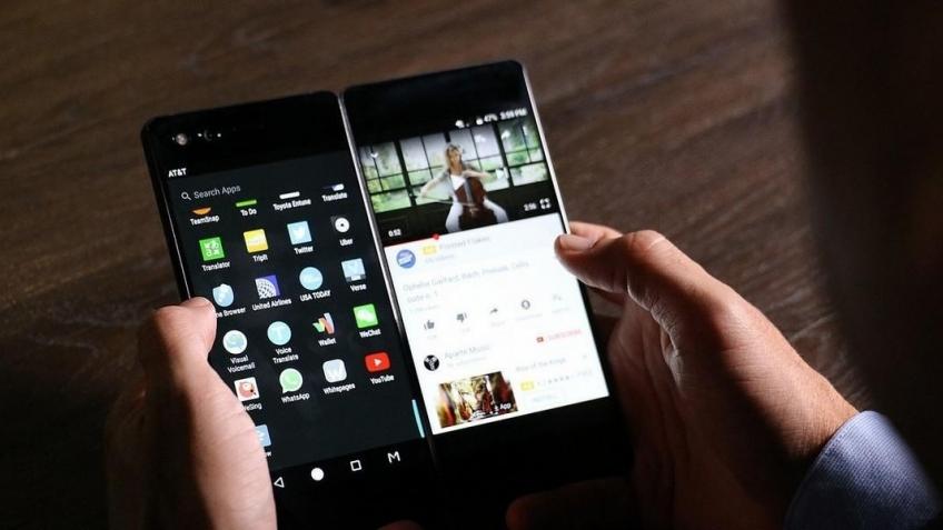 Так может выглядеть складной смартфон Vivo