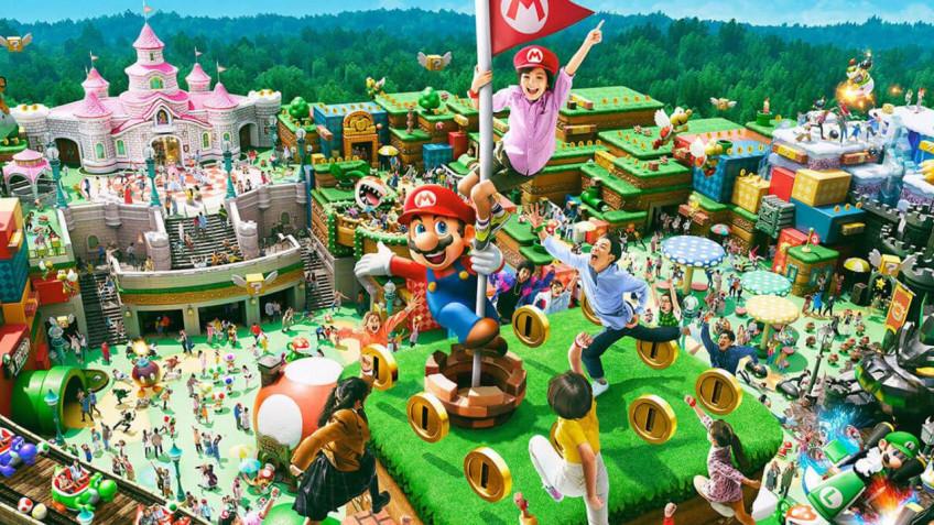 Японский парк развлечений по «Марио» откроют18 марта