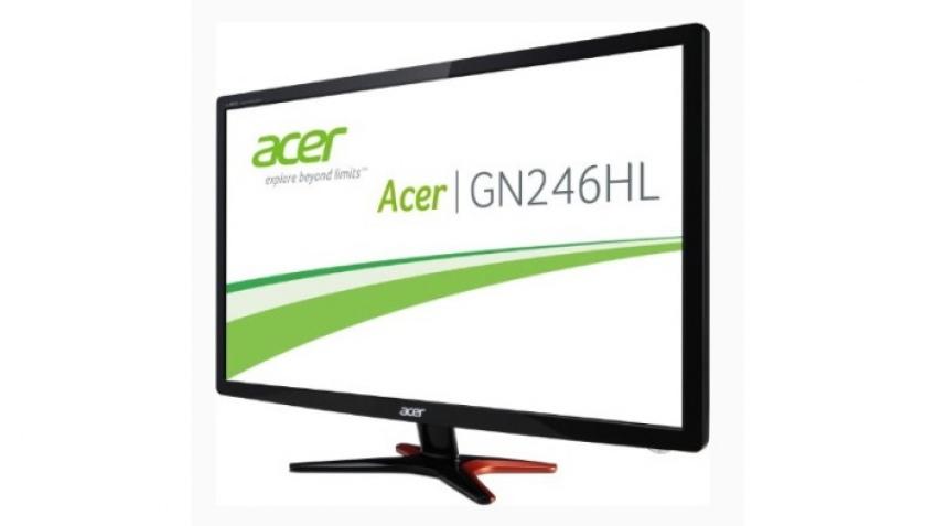 Acer выпустила игровой монитор GN246HL