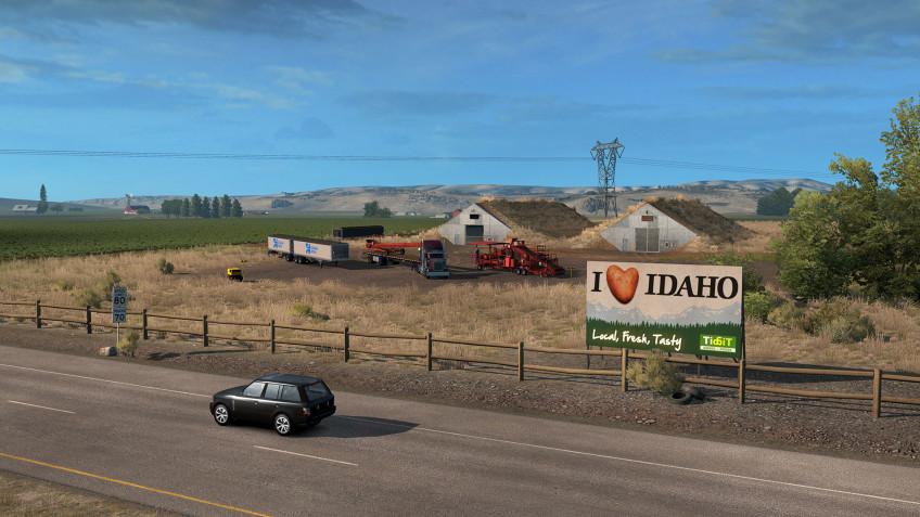 Авторы American Truck Simulator назвали дату релиза дополнения Idaho