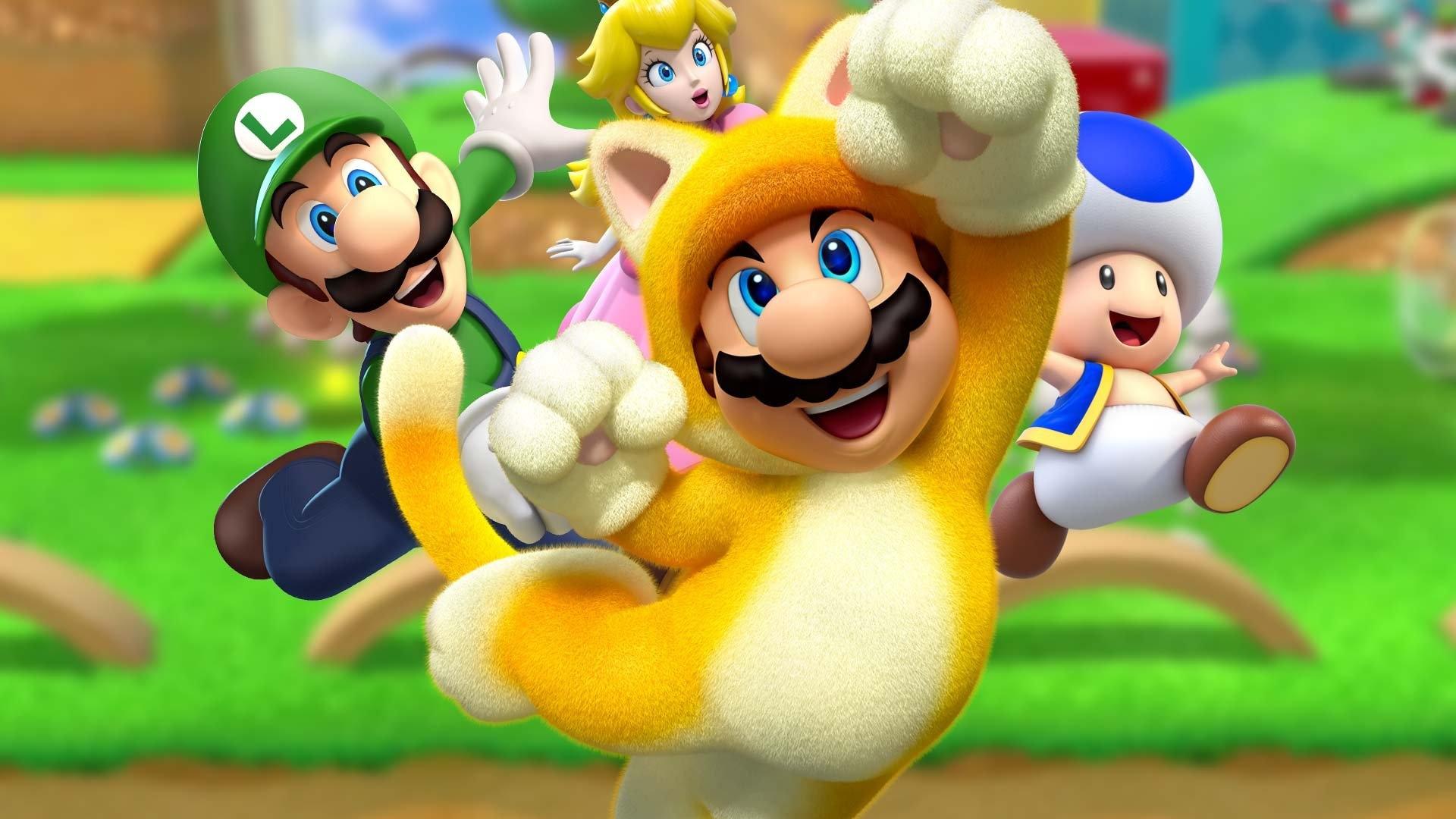 Обновлённая Super Mario 3D World стартовала в Британии почти в3 раза лучше оригинала