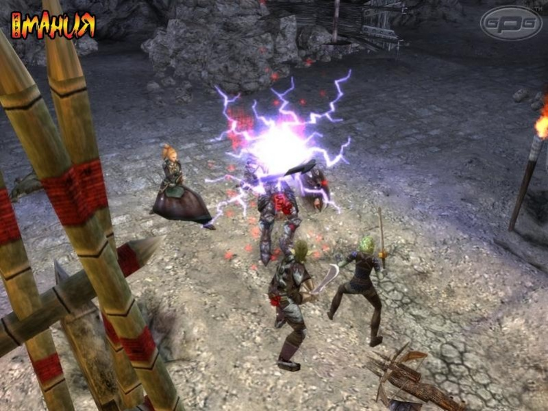 Первые скриншоты Dungeon Siege II