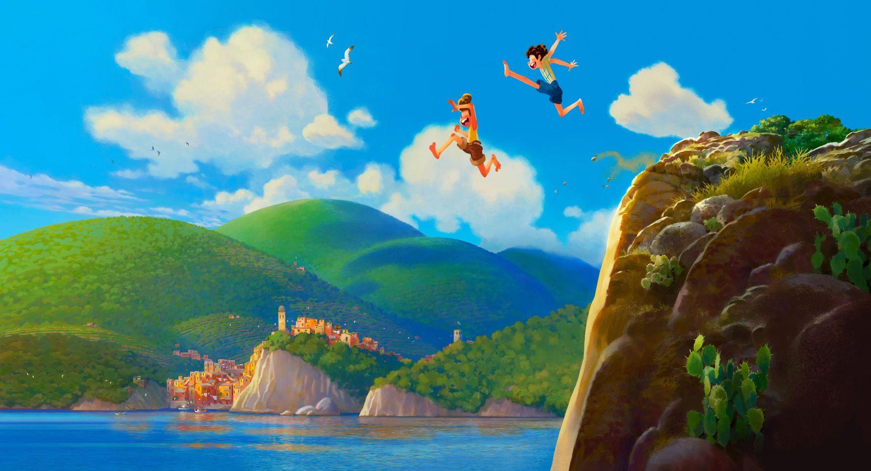 Pixar снимает мультфильм о летней мальчишеской дружбе и монстрах «Лука»