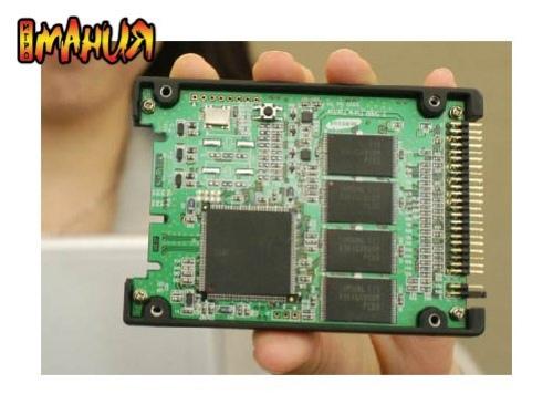 Новый SSD от Samsung
