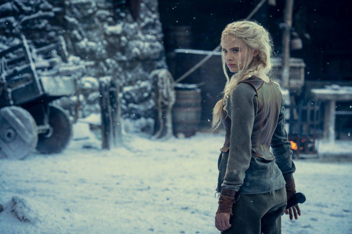 Появились новые кадры второго сезона «Ведьмака» с Цири