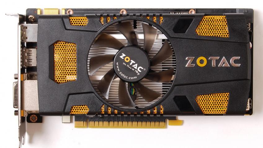 Видеокарта ZOTAC GeForce GTX 550 Ti с поддержкой трех мониторов