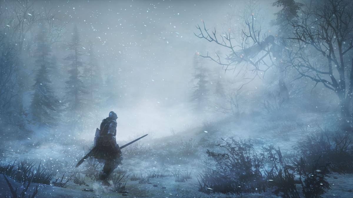 Релизный трейлер Dark Souls 3: Ashes of Ariandel приглашает в заснеженный мир