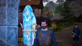 Огромный скелет и инвентарь в обзорном геймплейном трейлере King's Bounty2