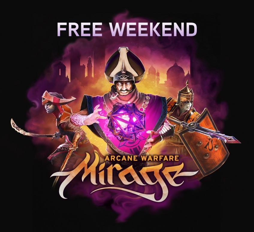 Авторы Mirage: Arcane Warfare устроили «бесплатные выходные»