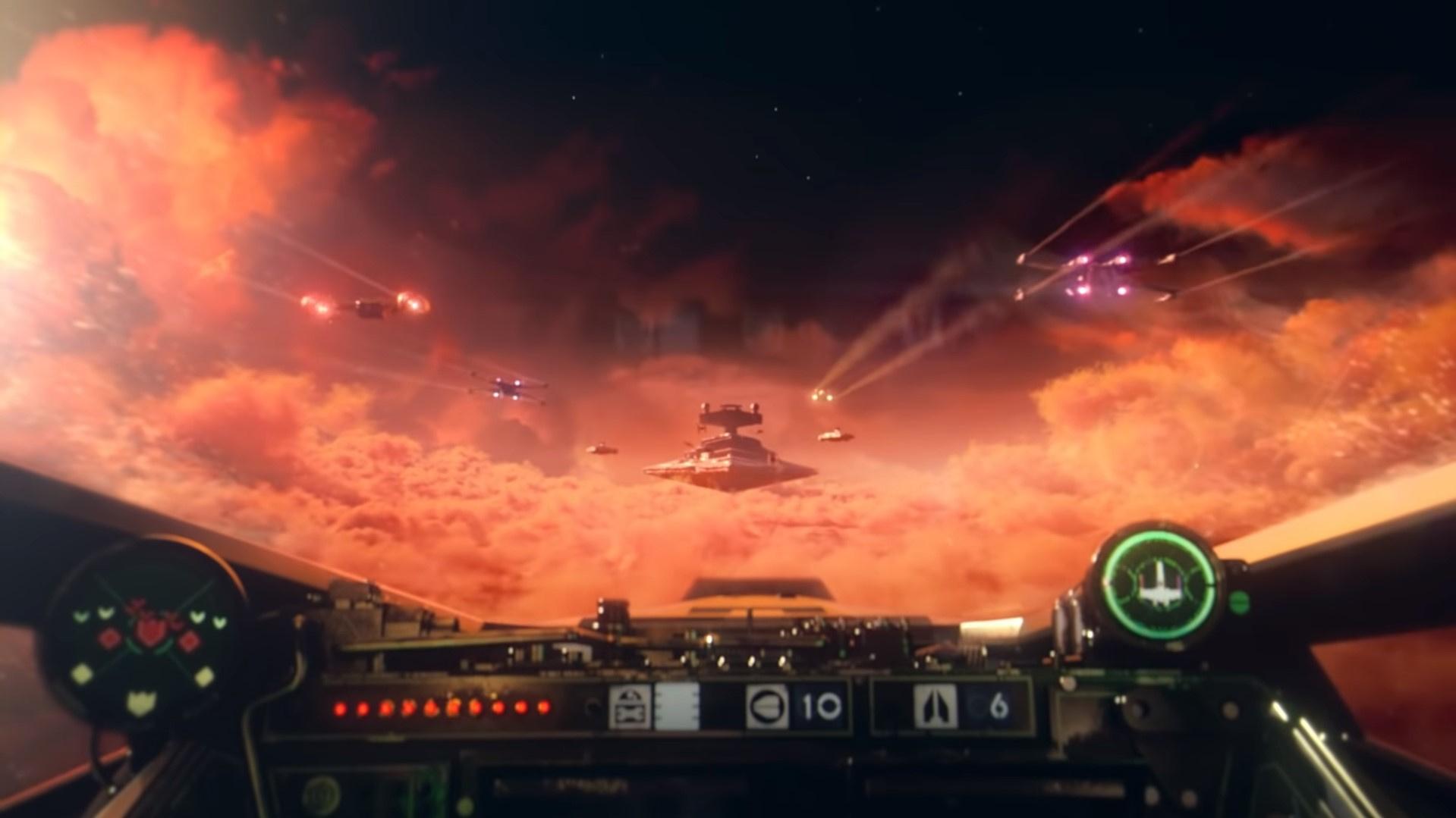 Дебютный трейлер, дата выхода, VR и кроссплей — премьера Star Wars: Squadrons