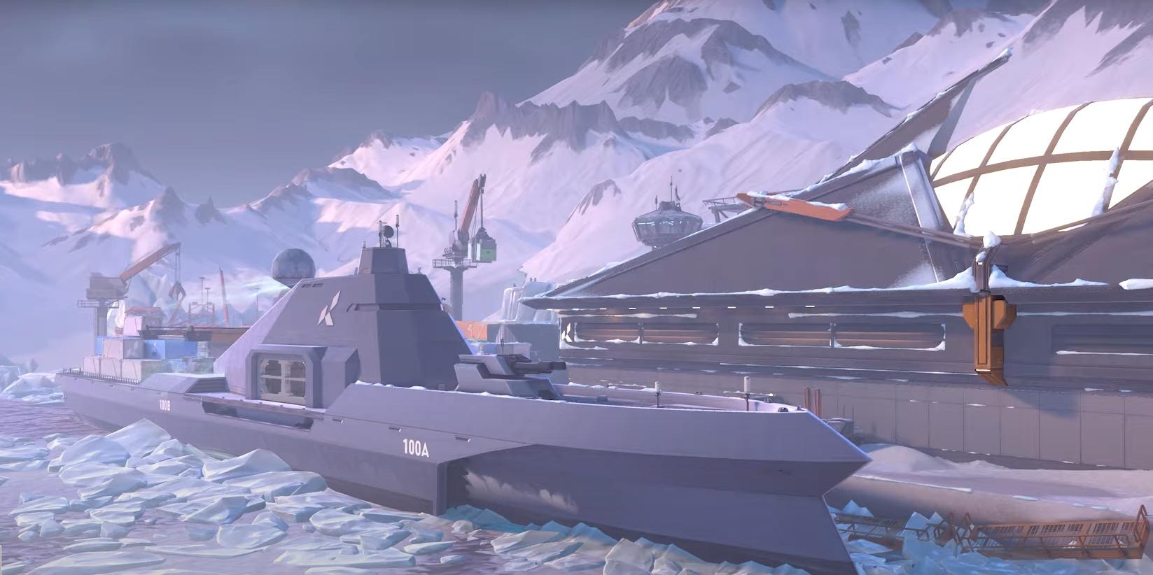Создатели Valorant показали новую карту — Icebox