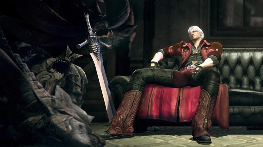 Классический Данте из Devil May Cry появится в Monster Hunter: World