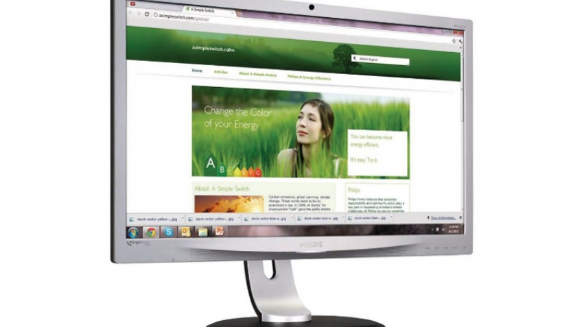 Philips выпустила IPS-монитор Brilliance 231P4QRYES