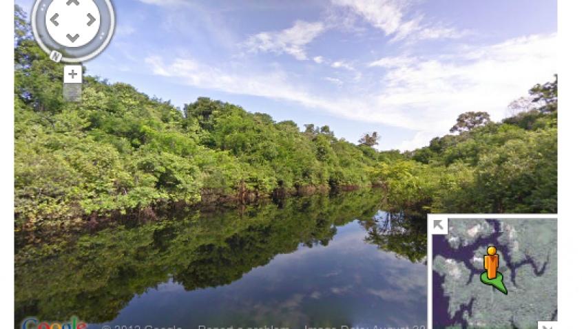 Google Street View — теперь и River View