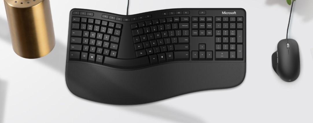 Классика возвращается: клавиатуру и мышь серии Ergonomic уже можно предзаказать