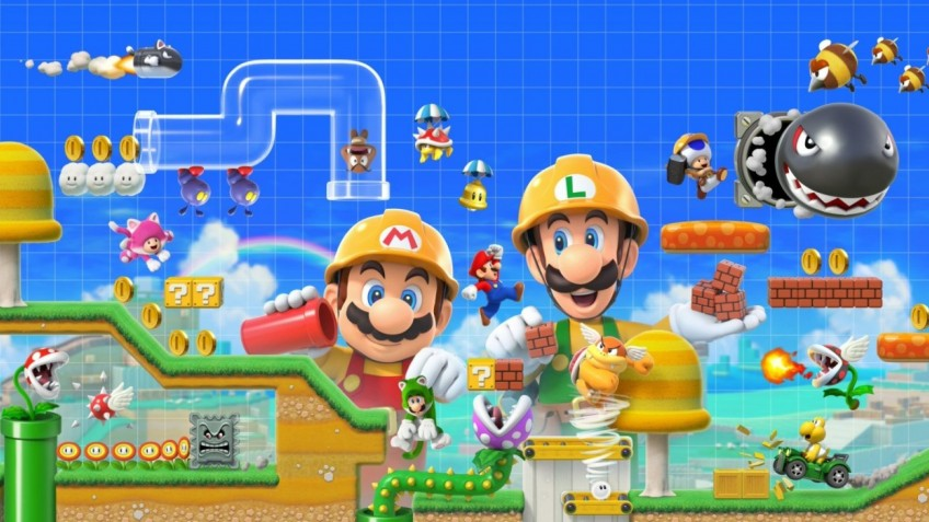 Английская розница: Super Mario Maker2 отобрал первенство у Crash Team Racing