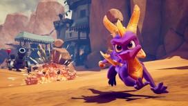 Восемнадцать секунд игрового процесса Spyro Reignited Trilogy