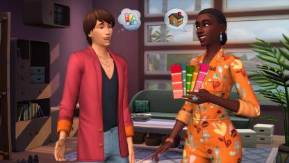 Герои The Sims4 смогут перестраивать чужие дома за деньги