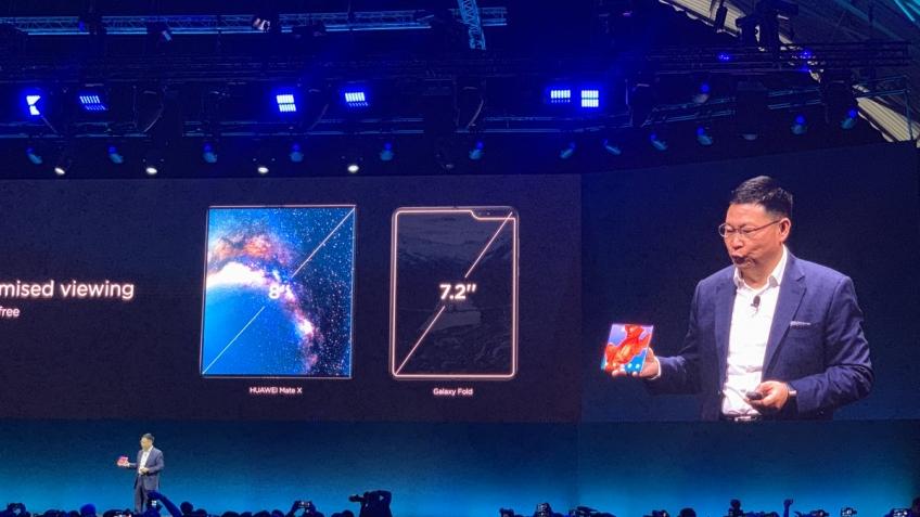 MWC 2019: Huawei представила смартфон со складным экраном Mate X