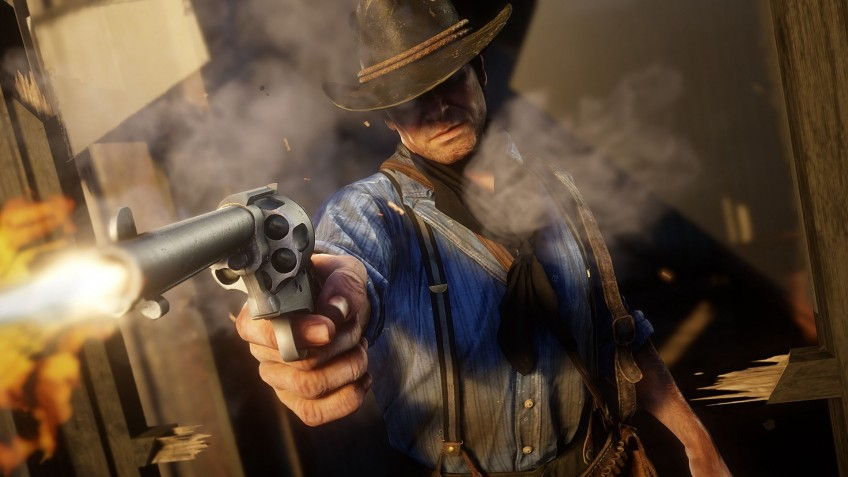 В коде компаньона Red Dead Redemption2 нашли настройки графики для вестерна на РС