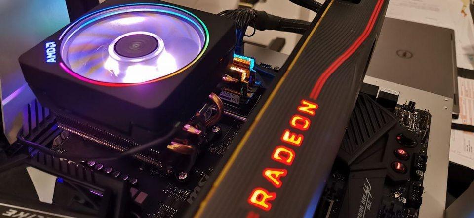 Видеокарта Radeon RX 5700 XT Liquid Devil оснащена водоблоком