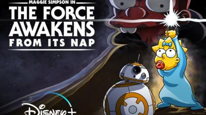 Завтра выйдет пародия «Симпсонов» на «Звёздные войны» с Мэгги