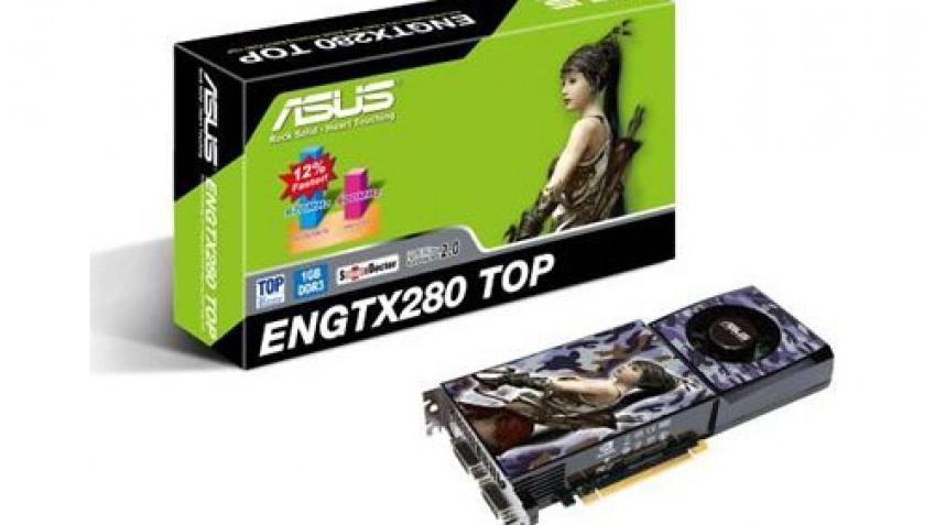 ASUS представила разогнанную GeForce GTX 280