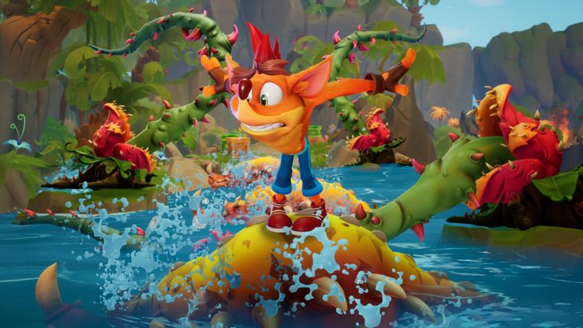 Crash Bandicoot4 на PC требует постоянное подключение к сети