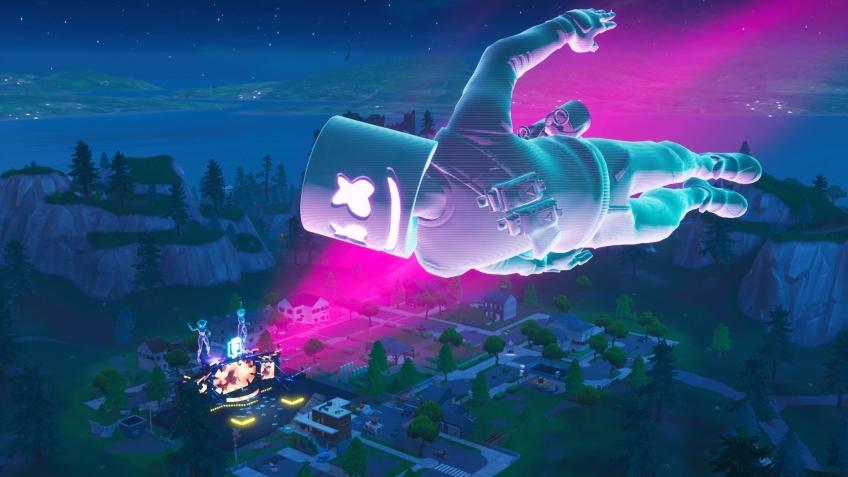 Виртуальный концерт Marshmello в Fortnite посетили свыше 10 млн игроков