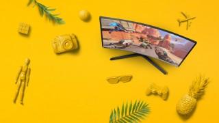 100% игровой: Samsung CRG5