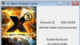 X3: Albion Prelude Трейнер +3