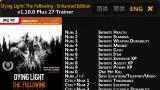 Dying Light Трейнер +27