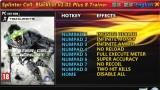 Tom Clancy's Splinter Cell: Blacklist Трейнер +8