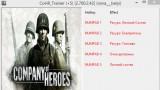 Company of Heroes Трейнер +5