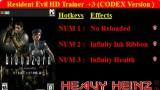 Resident Evil HD Remaster Трейнер +3