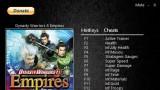 Dynasty Warriors 8: Empires Трейнер +11