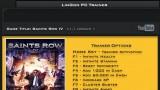 Saints Row4 Трейнер +20