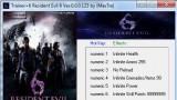 Resident Evil6 Трейнер +6