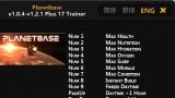 Planetbase Трейнер 19