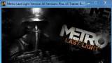Metro: Last Light Трейнер +13