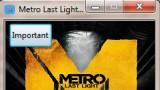 Metro: Last Light Трейнер +8