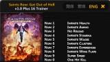 Saints Row: Gat Out of Hell Трейнер +16